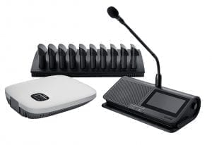 Product Shure - Microflex Complete Wireless on a white background