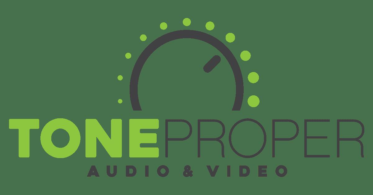 Tone Proper AV logo