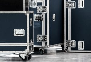 Touring cases for live sound